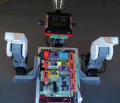Sistem demonstrativ cu diferite module de intrari iesiri: Funny robot.