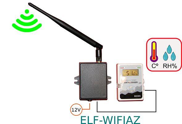Interfata si Senzor de Temperatura WiFi