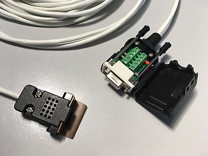 Senzor temperatura ELF-SC01 cu cablu serial I2C pentru sistem monitorizare de la distanta cu alarma email sau GSM